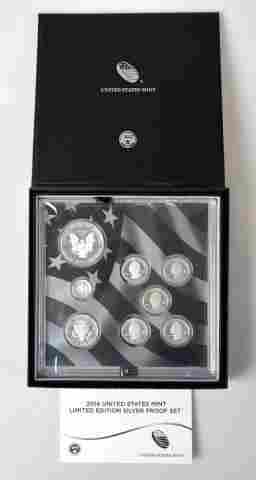 2014 US Mint Limited Edition Silver Proof Set