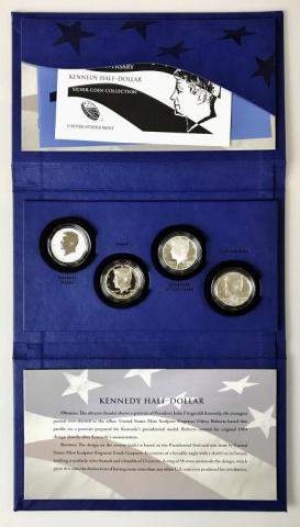 2014 50th Anniversary Silver Kennedy Half Set