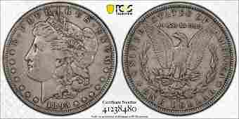 1893 S Morgan Silver Dollar, PCGS VF30