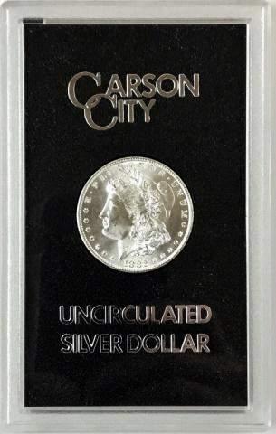 1882 CC GSA Morgan Silver Dollar, BU