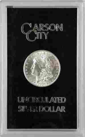 1883 CC GSA Morgan SIlver Dollar, BU