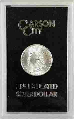 1884 CC GSA Morgan Silver Dollar, BU