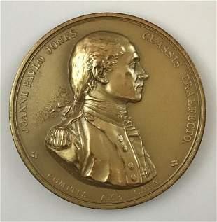 19th C. John Paul Jones Naval Medal
