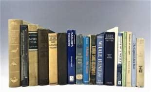 Books, Whaling Histories & Moby Dick (18pc)