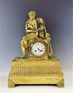 19th C. French 2nd Empire Neoclassical Clock