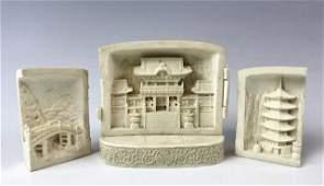 Japanese Edo Period Carved Portable Shrine