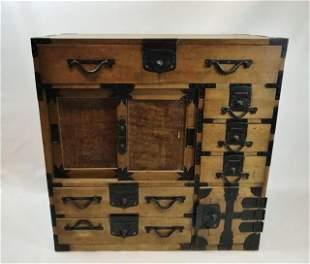 Japanese Meiji Period Tansu Cabinet