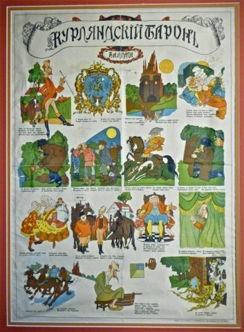 Russian Empire, Propaganda Poster