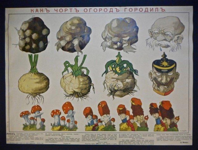 MOOR, DMITRY WWI period Propaganda Poster