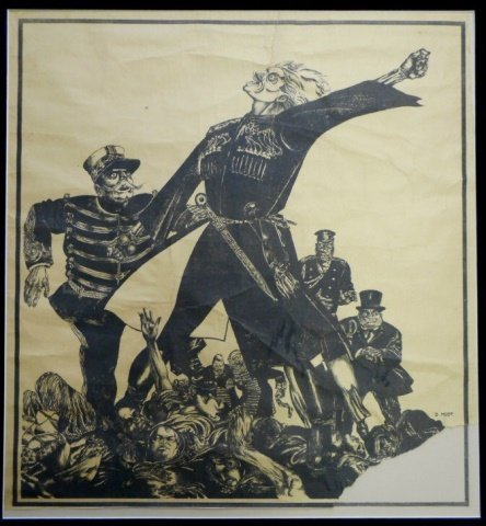 MOOR, DMITRY, Russian Civil War Propaganda Poster