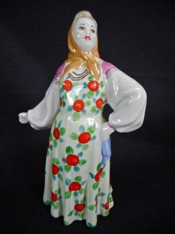 Five Porcelain Dulevo Figurines - 10