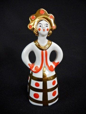 Five Porcelain Dulevo Figurines - 8