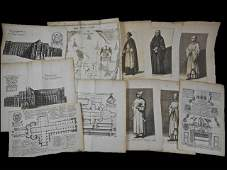 17th and 18th C Prints  Religious Theme