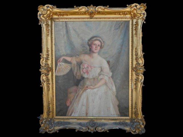 HENWOOD, F. (British, 1864-1948) DuPont Portrait