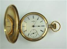 14K Gold American Pocket Watch Elgin
