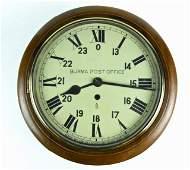 English Fusee Wall Clock, F.W. Elliott Ltd