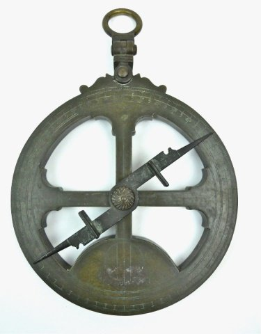 European Mariner's Astrolabe, Dated 1555