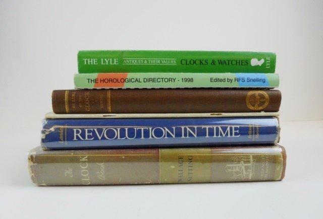Six Horology Books