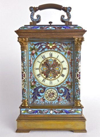 French Hour Repeat Carriage Clock