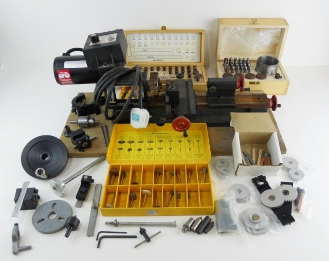 Sherline Mini Mill and Accessories