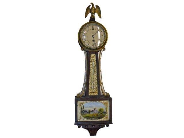 Boston Statehouse Banjo Wall Clock, Tiffany & Co.
