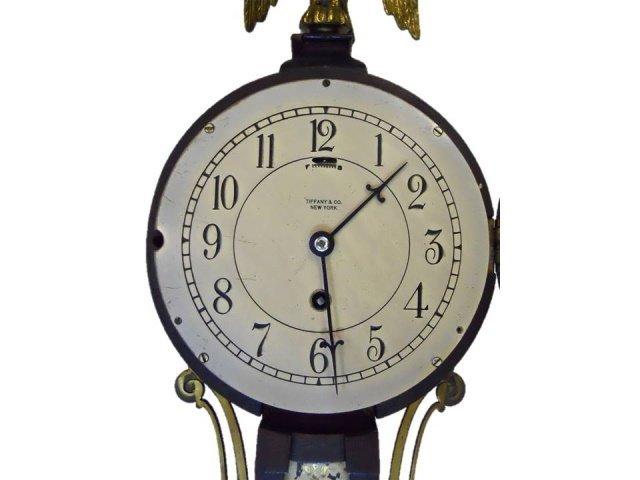 Boston Statehouse Banjo Wall Clock, Tiffany & Co. - 2
