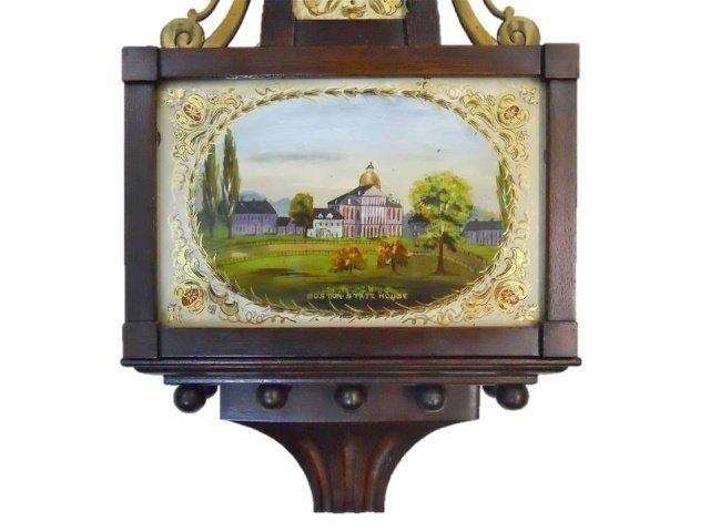 Boston Statehouse Banjo Wall Clock, Tiffany & Co. - 3