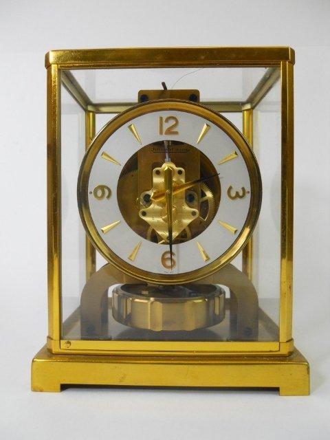 torsion pendulum clock. swiss torsion pendulum clock, jaeger le-coultre clock