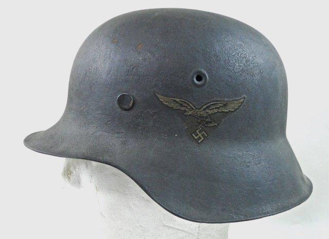 WWII German M1942 Luftwaffe Combat Helmet