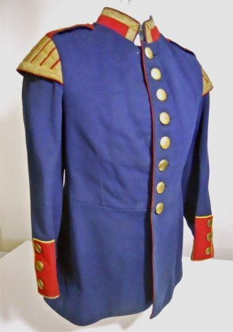WWI Prussian Guard Musician's Uniform with Hat