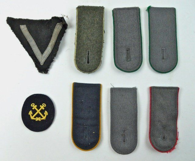 WWII German Insignia Group (8pc)