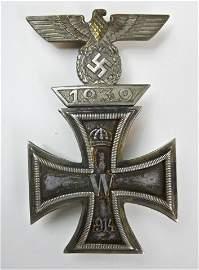 WWII German Iron Cross with Spange, Georg Keppler
