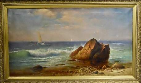 19th C Painting, CHARLES HENRY GIFFORD (1839-1904)