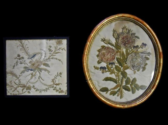 Two Antique Embroidered Textiles