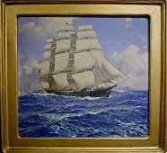 Painting O/C, ANTON OTTO FISCHER (1882-1962)