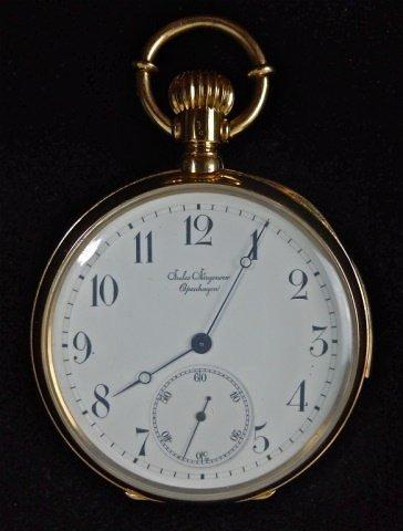 18K Minute Repeat Pocket Watch, Jules Jurgensen