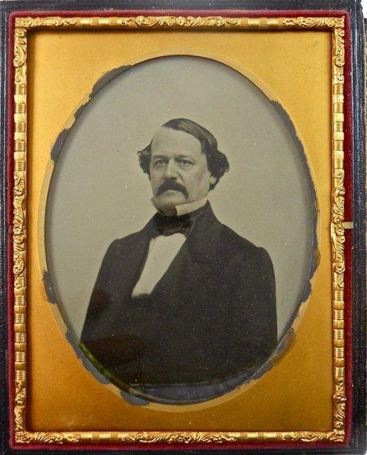 Half Plate Ambrotype Benjamin Butler, Mathew Brady