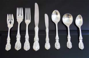 Sterling Flatware Reed & Barton Francis 1st (82pc)