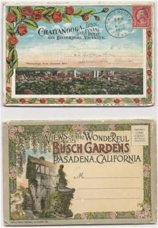 Vintage Folding Postcard Booklet Collection (130+)