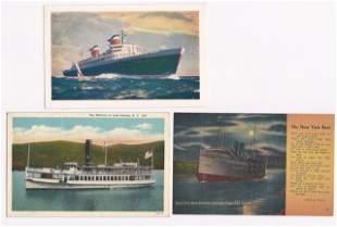 Transportation Postcard Collection, (200+)