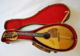 Cased French Mandolin, Jean De Backer