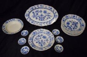 Porcelain, Meissen, Zwieblemuster Blue Onion