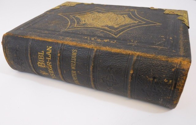 """Welsh Bible, """"Efengyl Gogoniant"""", Peter Williams - 4"""