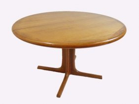 Danish Teak Table, Edward Valentinsen