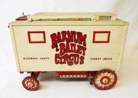 Vintage Barnum & Bailey Circus Model Ticket Office