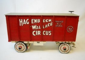 Vintage Hagenbeck-wallace Model Circus Menagerie
