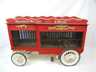 LG-Vintage Haggenbeck-Wallace Model Circus Wagon