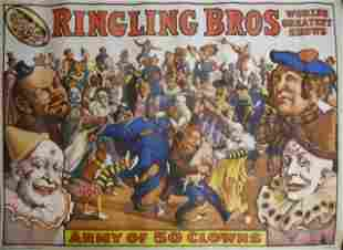 Collection of Vintage Circus Posters (30)