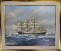 Painting, Oil on Board, Thomas W. Wells