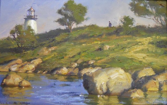 Painting, Oil on Board, Donald Demers - 2